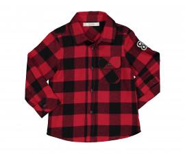 Детска риза с дълъг ръкав Бирба 90013-95Z, момче, 9-30 м.