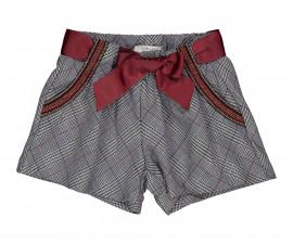 Детски къси панталони Трибеонд 91499-95W, момиче, 4-12 г.
