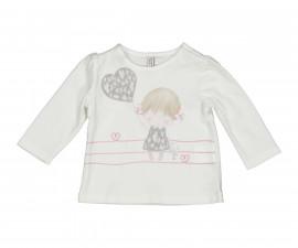 Детска блуза с дълъг ръкав Бирба 94006-10E, момиче, 3-9 м.
