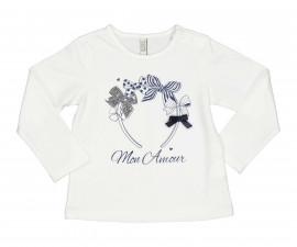 Детска блуза с дълъг ръкав Бирба 94042-10E, момиче, 12-30 м.