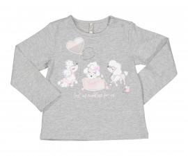Детска блуза с дълъг ръкав Бирба 94052-48C, момиче, 6-30 м.