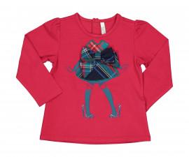 Детска блуза с дълъг ръкав Бирба 94066-57M, момиче, 9-30 м.