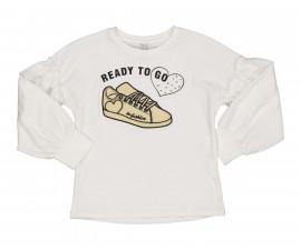 Детска блуза с дълъг ръкав Трибеонд 94436-10E, момиче, 7-12 г.