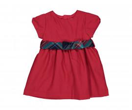 Детска рокля с къс ръкав Бирба 95318-57M, за възраст 9-30 м.
