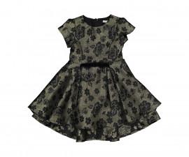 Детска рокля с къс ръкав Трибеонд 95579-93Z, за възраст 3-9 г.