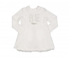Детска рокля с дълъг ръкав Трибеонд 95582-10E, за възраст 5-9 г.