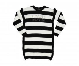 Детска рокля с дълъг ръкав Трибеонд 95583-90Z, за възраст 7-12 г.