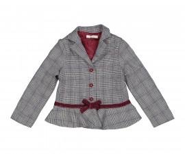 Детско яке с копчета Трибеонд 97499-95W, момиче, 4-12 г.