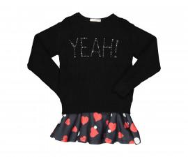 Детски комплект рокля с пуловер Трибеонд 99974-10A, момиче, 3-9 г.