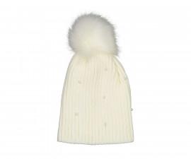 Детска зимна шапка с помпон Trybeyond 98917-10e за момиче, размер M_L