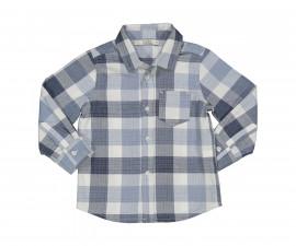 Детска карирана риза с дълъг ръкав Birba 90011-97z за момче, 9-30 м.