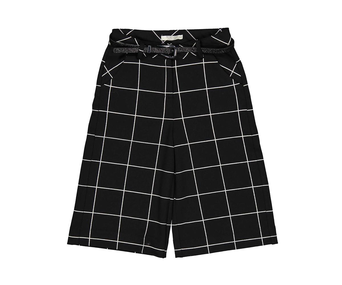 Детски панталон каре Trybeyond 92483-90z за момиче, 7-12 г.
