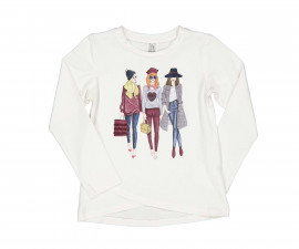 Детска блуза с дълъг ръкав Trybeyond 94487-10e за момиче, 4-12 г.