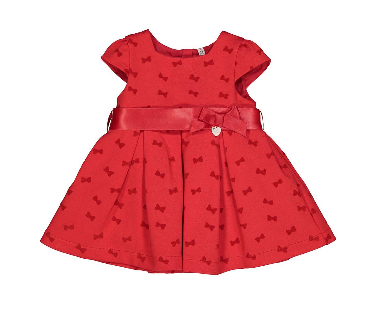 Детска рокля с къс ръкав Birba 95303-95z, 6-12 м.