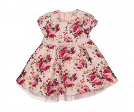 Детска флорална рокля с къс ръкав Birba 95325-95z, 12-30 м.