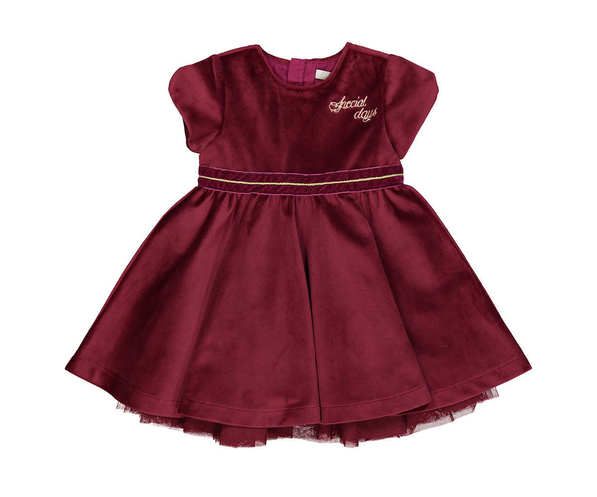 Детска рокля с къс ръкав Birba 95326-57p, 12-30 м.