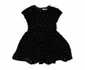 Детска дантелена рокля с къс ръкав Trybeyond 95580-91h, 3-9 г.