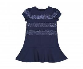 Детска рокля с къс ръкав с пайети Trybeyond 95593-70m, 3-9 г.