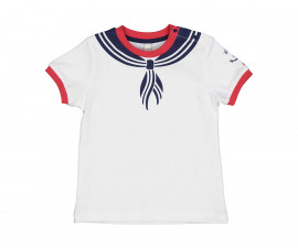 Детска тениска с къс ръкав Birba 24053-15A за момче, 9-30 м.