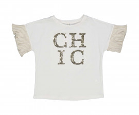Детска блуза с къс ръкав Trybeyond 24443-10N за момиче, 3-12 г.