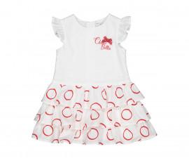 Детска рокля без ръкав с волани Birba 25315-15A, 9-30 м.