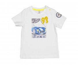 Детска тениска с къс ръкав Бирба 24051-15A, момче, 6-30 м.