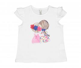 Детска блуза с къс ръкав Бирба 24054-15A, момиче, 6-30 м.