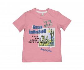 Детска тениска с къс ръкав Бирба 24088-51D, момче, 6-30 м.