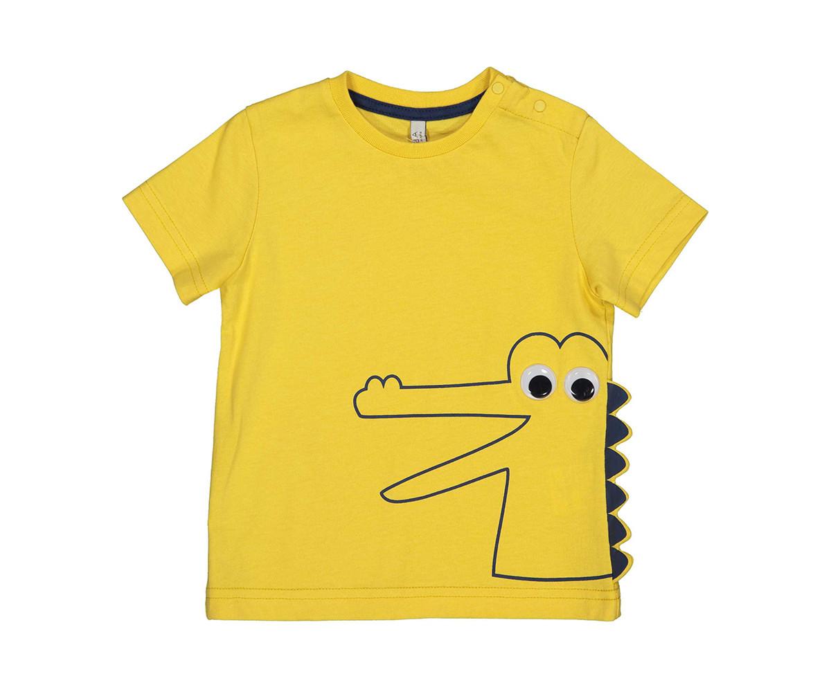 Детска тениска с къс ръкав Бирба 24093-35I, момче, 6-30 м.