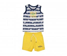 Детски комплект потник с шорти Бирба 29043-97Z, момче, 6-30 м.