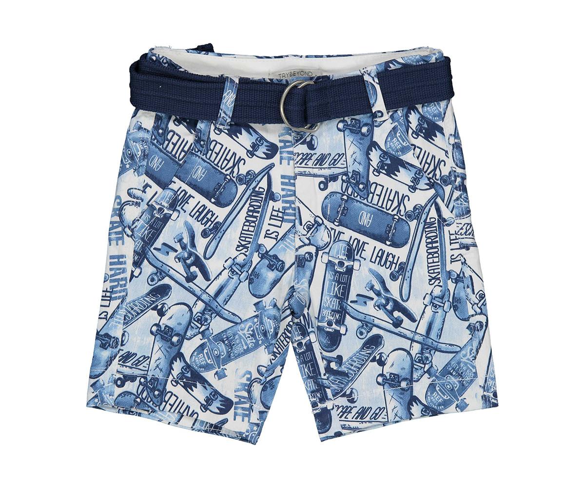 Детски къси панталони Трибеонд 21484-97Z, момче, 3-12 г.