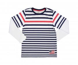 Детска тениска с дълъг ръкав Трибеонд 24460-95Z, момче, 3-12 г.