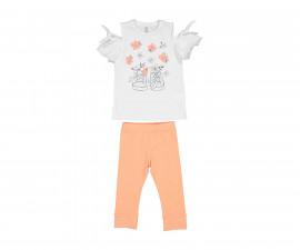 Детски комплект блуза с клин Трибеонд 29986-15A, момиче, 3-12 г.