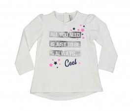 Детска блуза с дълъг ръкав Birba Everyday Love Fitness 34026-10E за момиче, 6-30 м.