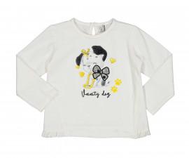 Детска блуза с дълъг ръкав Birba Yellow Chic 34069-10E за момиче, 6-30 м.