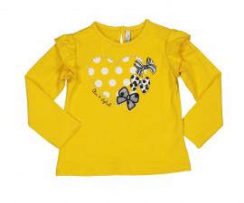 Детска блуза с дълъг ръкав Birba Yellow Chic 34071-30H за момиче, 6-30 м.