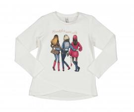 Детска блуза с дълъг ръкав Trybeyond Folkish 34465-10E за момиче, 3-12 г.