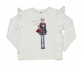 Детска блуза с дълъг ръкав Trybeyond Bright Blue 34471-10E за момиче, 3-12 г.