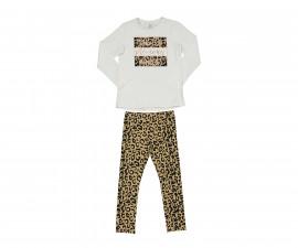 Детски комплект блуза с панталон Trybeyond Folkish 39978-10E за момиче, 3-12 г.