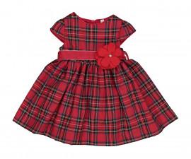 Детска рокля с къс ръкав с колан Birba Natale 35303-95Z, 3-12 м.