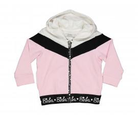 Детски суитшърт с качулка и цип Birba Everyday Lovely Pink 36807-56C, момиче, 6-30 м.