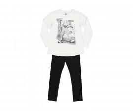 Детски комплект блуза с панталон Trybeyond Everyday Ny Style 39982-10E, момиче, 3-12 г.
