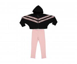 Детски комплект суитшърт с панталон Trybeyond Everyday Pink Attitude 39987-10A, момиче, 3-12 г.