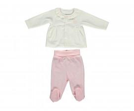 бебешки комплект блуза с ританки Family Love, марка Bebetto, фабр.№ K2783, момиче, 3-9 м.