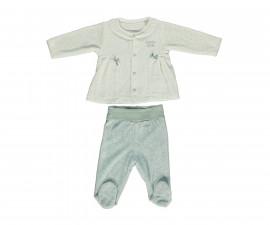 бебешки комплект блуза с ританки Family Love, марка Bebetto, фабр.№ K2783m, момиче, 3-9 м.