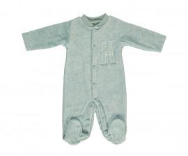 плюшен бебешки гащеризон с ританка Family Love, марка Bebetto, фабр.№ T2242m, момиче, 3-9 м.