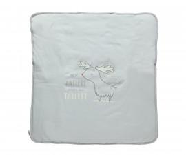 памучно подплатено бебешко одеяло Free Animal, марка Bebetto, фабр.№ B659, унисекс, 80 х 85 см.