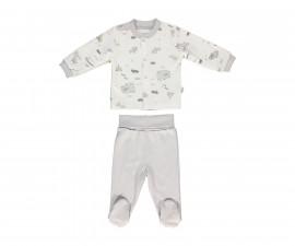бебешка пижама с ританка 2 части Free Animal, марка Bebetto, фабр.№ F1086, унисекс, 0-9 м.