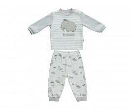 бебешка пижама 2 части Free Animal, марка Bebetto, фабр.№ F1087, унисекс, 3-18 м.