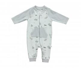 бебешки гащеризон с цип Free Animal, марка Bebetto, фабр.№ T2142, унисекс, 3-12 м.
